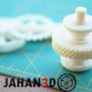 ساخت قطعات صنعتی با پرینتر سه بعدی