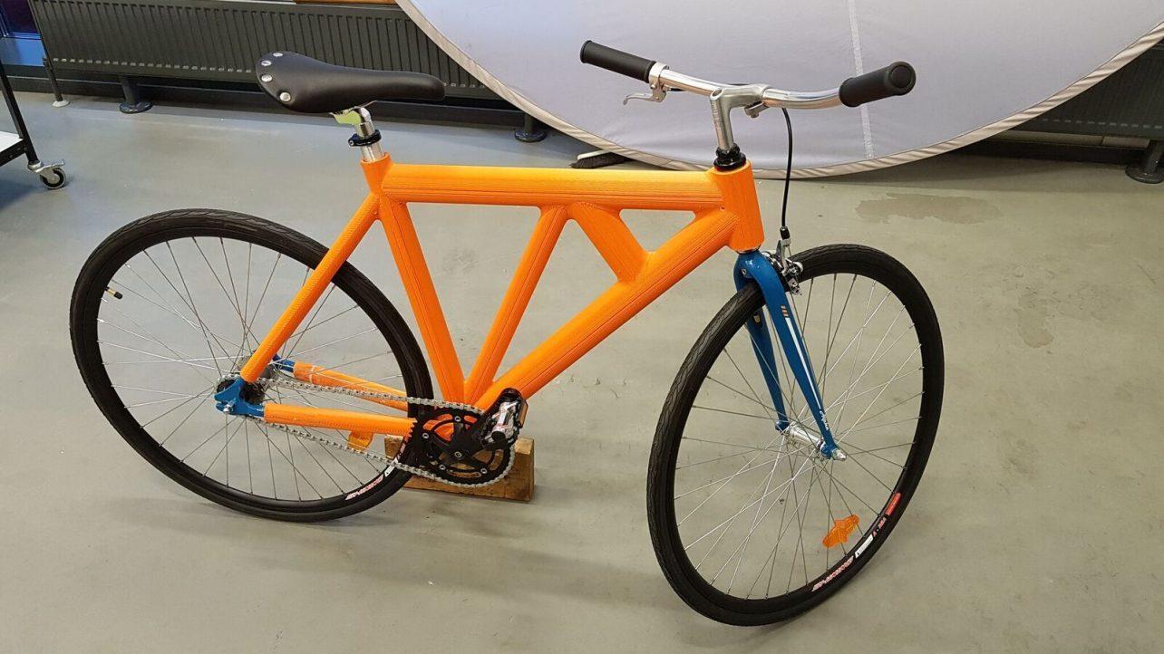 ساخت دوچرخه توسط پرینتر سه بعدی :