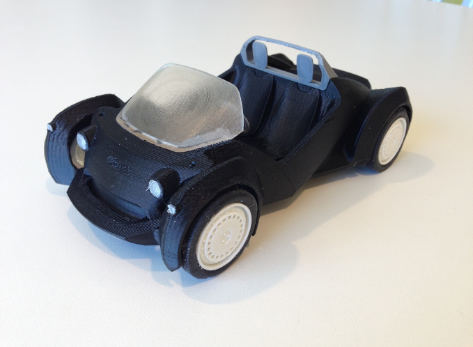 کاربرد پرینترسه بعدی در خودرو سازی